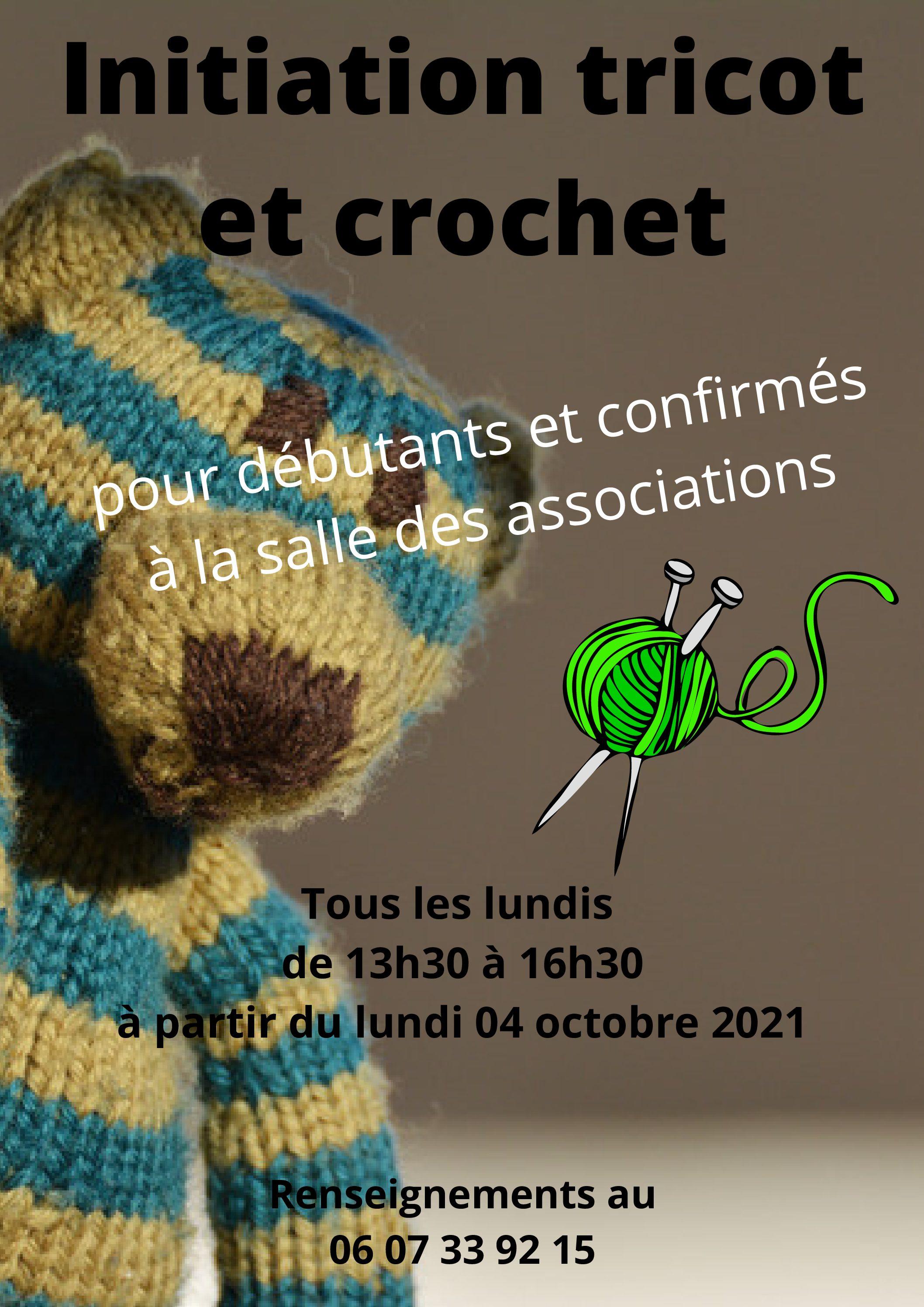 Initiation au Tricot et crochet